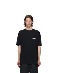 Vetements Black Security T Shirt
