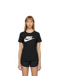Nike Black Sportswear Essential Icon Futura T Shirt