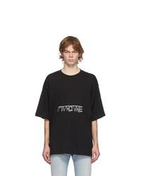 Diesel Black T Ball X1 T Shirt
