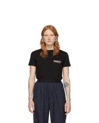 Balenciaga Black T Shirt