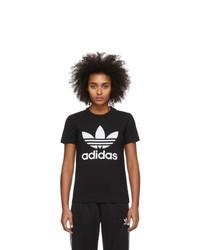 adidas Originals Black Trefoil T Shirt