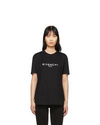 Givenchy Black Vintage T Shirt