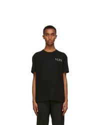 Valentino Black Vltn T Shirt