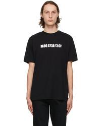 1017 Alyx 9Sm Black White Mirrored Logo T Shirt