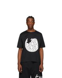 Études Black Wikipedia Edition Unity Sphere T Shirt