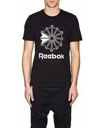 Reebok Bny Sole Series Star Crest Logo Cotton T Shirt