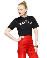 Dsquared2 Catens Printed Cotton T Shirt