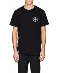 Off-White Co Virgil Abloh Logo Cotton T Shirt
