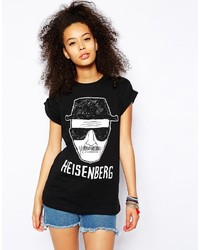 Asos Collection T Shirt With Breaking Bad Heisenberg Print