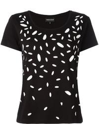 Emporio Armani Contrast Print T Shirt