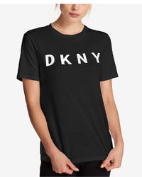 DKNY Cotton Logo Print T Shirt