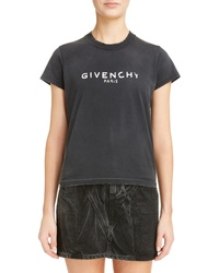 Givenchy Destroyed Logo Tee