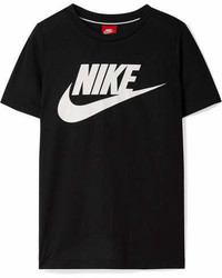 Nike Essential Printed Stretch Jersey T Shirt Black