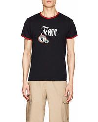 Facetasm Face Cotton Short Sleeve T Shirt