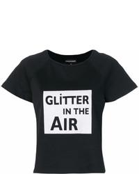 Emporio Armani Glitter In The Air Print T Shirt