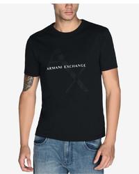 Armani Exchange Graphic Print T Shirt