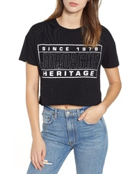 JORDACHE Kimberly Crop Tee