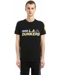 Kappa Kontroll Dunkers Cotton Jersey T Shirt