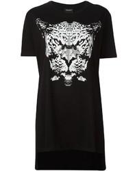 Marcelo Burlon County of Milan Leopard Print T Shirt