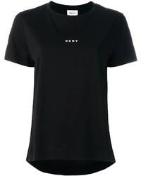 DKNY Logo Print T Shirt