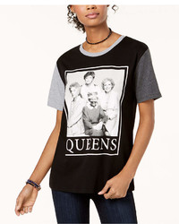 Love Tribe Juniors Queens Graphic Print T Shirt
