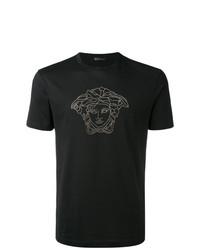 Versace Medusa Head Swarovski T Shirt