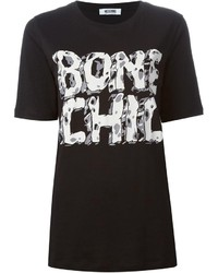Moschino Boutique Bone Chill Print T Shirt