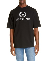 Balenciaga New Bb Logo T Shirt