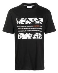 Calvin Klein Organic Graphic Box T Shirt