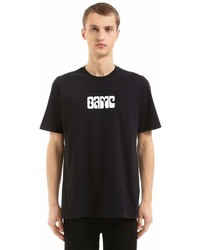 Oamc Printed Cotton Jersey T Shirt