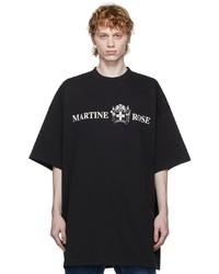 Martine Rose Quiet Riot Logo T Shirt