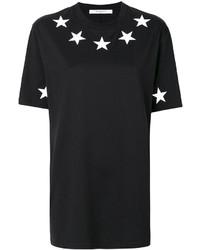 Star print oversize t shirt medium 6368428