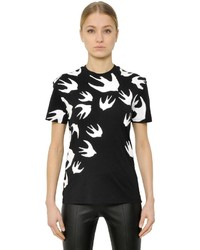 Swallow printed cotton jersey t shirt medium 3644381
