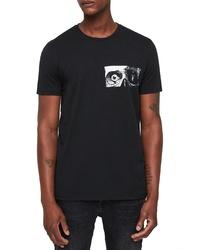 AllSaints Vision Crewneck T Shirt