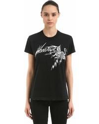 Givenchy World Tour Tiger Printed Jersey T Shirt