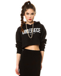 Dimepiece la the dimepiece cropped hoodie medium 55392
