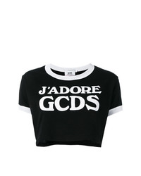 Logo cropped t shirt medium 7724936