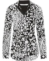 Diane von Furstenberg Lorelei Printed Silk Shirt
