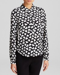 Kate Spade New York Dancing Hearts Blouse