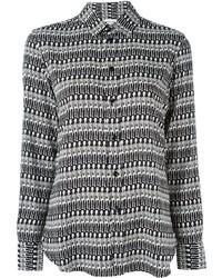 Saint Laurent Skeleton Print Shirt
