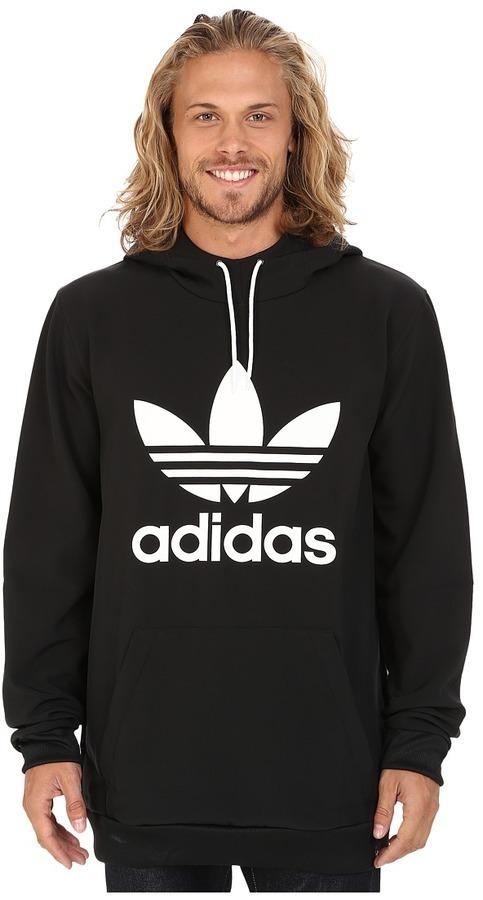 92f009fb18e4 ... Black and White Print Hoodies Adidas Skateboarding Team Tech Hoodie  Sweatshirt ...