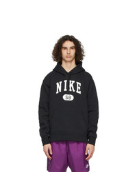 Nike Black And White Sb March Radness Hoodie