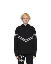 Givenchy Black Logo Chain Hoodie