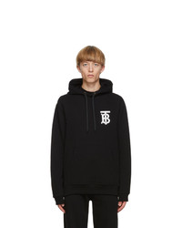 Burberry Black Monogram Landon Hoodie