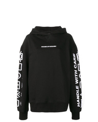 House of Holland Handle With Care Hoodie