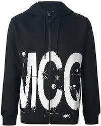 Mcq by alexander mcqueen logo print hoodie medium 52802