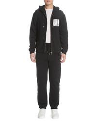 Versace Collection Zip Hoodie Track Pants Set
