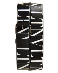 Valentino Vltn Leather Belt