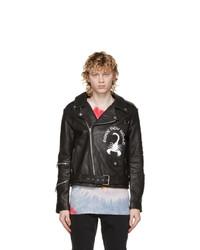 Stolen Girlfriends Club Black Leather Scorpio Rising Jacket