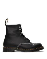 Dr. Martens Black Cbgb Edition 1460 Boots